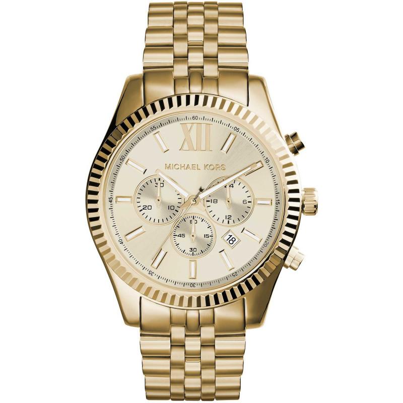 huge inventory f3324 ffe60 watch chronograph man michael kors 45mm MK8281